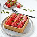 Croûte aux fraises - strawberry pie