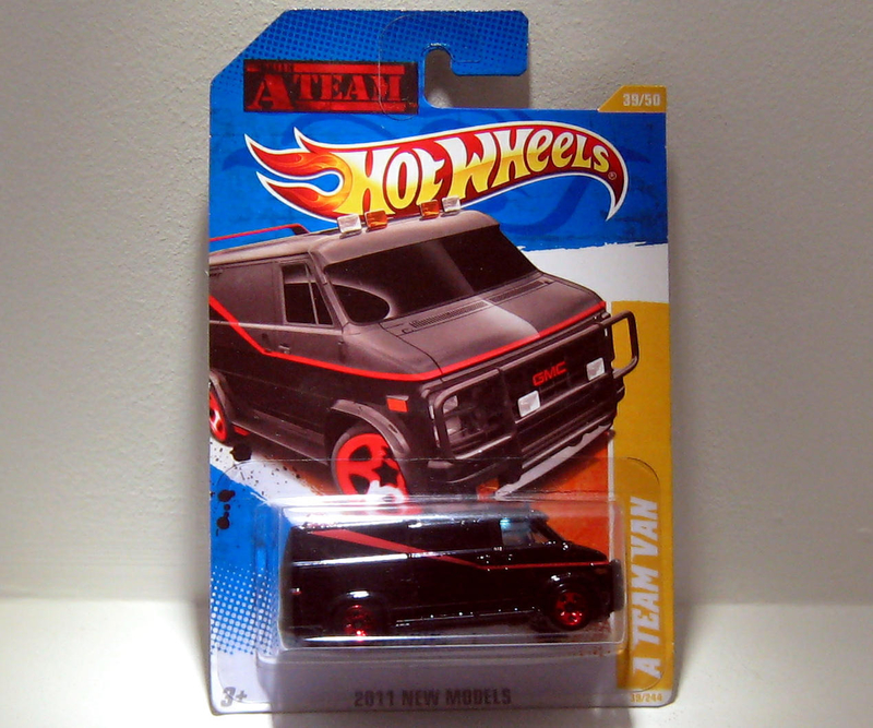 Gmc Van A Team (Hotwheels 2011)