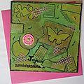 Carte Anniversaire Karine 2012
