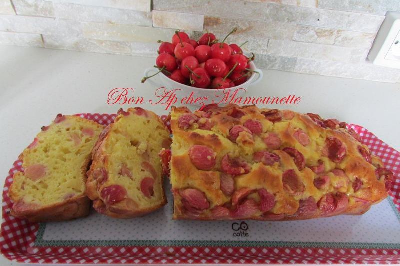 gâteau cerises du verger mascarponé et rhumé 010-