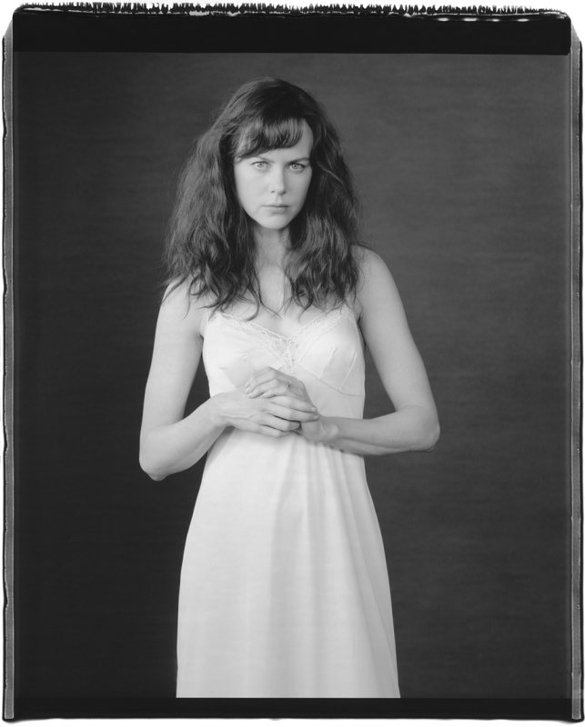 Nicole Kidman in Character as Photographer Diane Arbus An Imaginary Portrait of Diane Arbus Steiner Studios Brooklyn New York2005