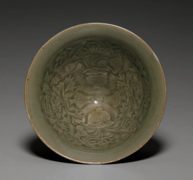A_rare_small_molded_Yaozhou_conical_bowl__Northern_Song_dynasty__11th_century