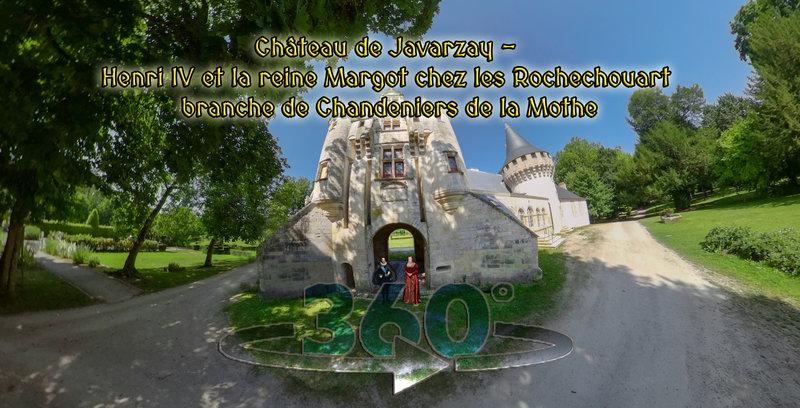 Château de Javarzay - Henri IV et la reine Margot chez les Rochechouart branche de Chandeniers de la Mothe