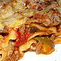 Lasagne de légumes allégée