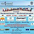 Bientôt le concours miss mermaid international 2017