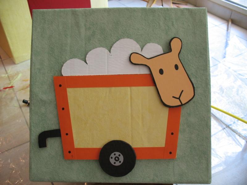 Chambre enfants carton