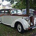 Daimler db-18 saloon 1947