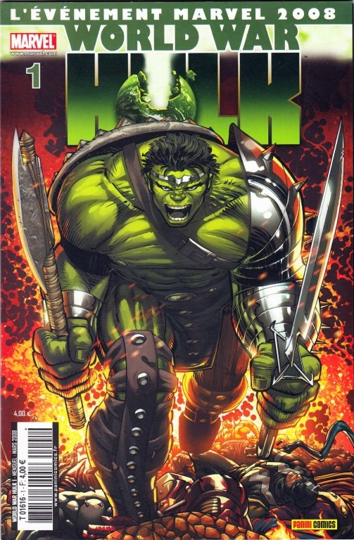 Panini Marvel World War Hulk