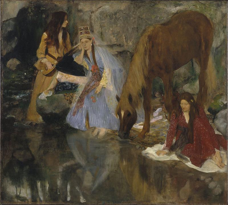 Degas, Mlle Fiocre dans le ballet la source