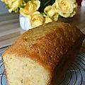 cake au citron et à l'huile d'olive de Christophe Bacquié