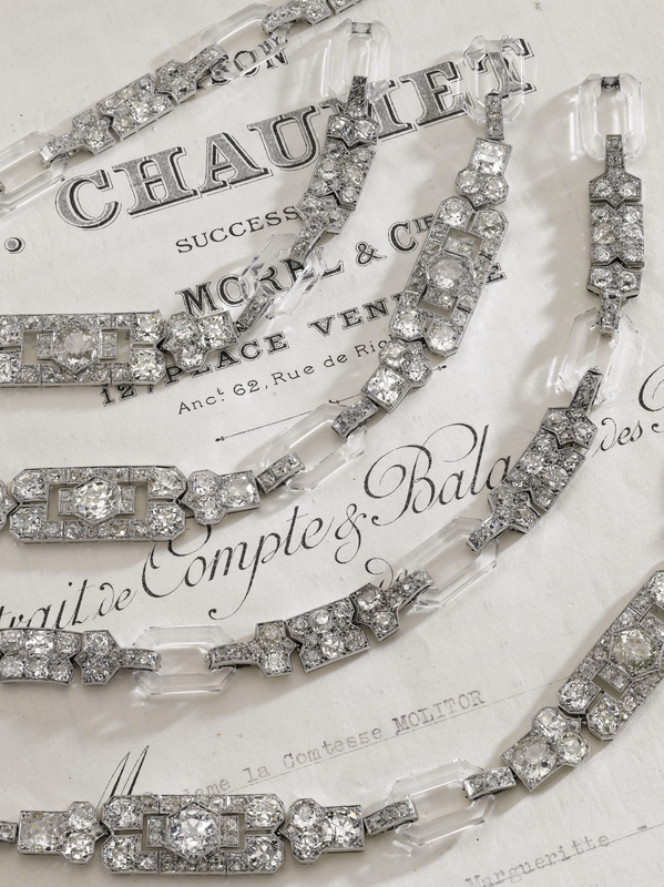 Diamond and rock crystal sautoir - Chaumet, 1929 -Magnificent Jewels and Noble Jewels Sotheby's Geneva 13 nov 2019