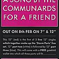 This is a song by the communards... for a friend | 8th february 1988