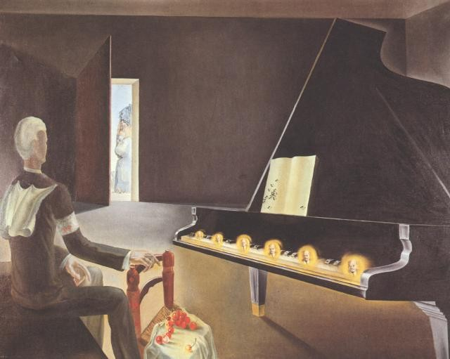 Partial Hallucination. Six apparitions of Lenin on a Grand Piano, 1931.