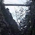 Sur les rives du chéran du pont de l'abîme - bauges