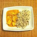 Recette : saumon poché au curry coco - by clara