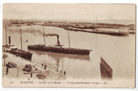 76 - LE HAVRE - Port et bassins - Augustin Normand