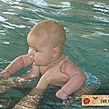 Baptiste aux bébés nageurs