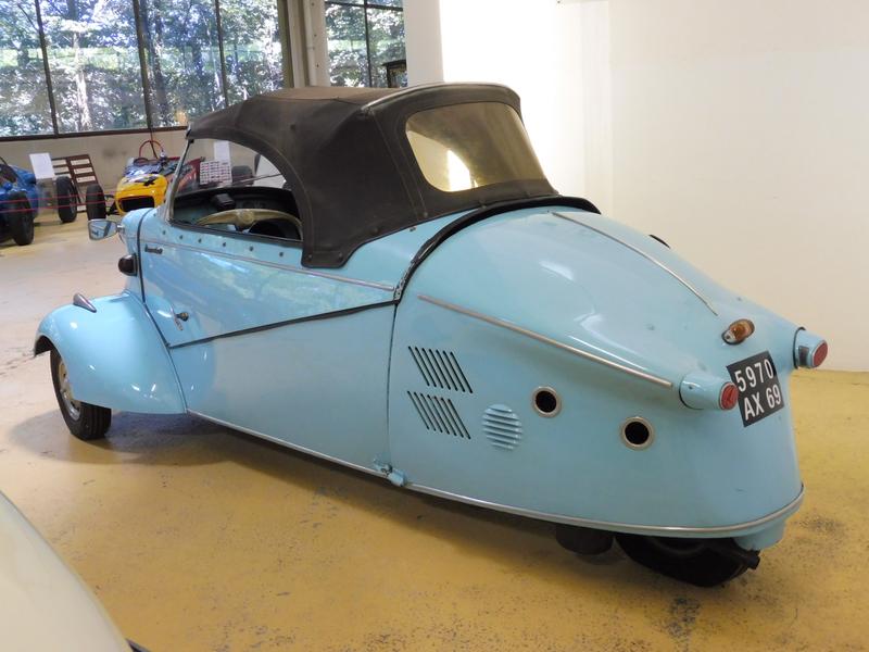 MESSERSCHMITT type KR201 Kabinenroller roadster 1958 Rochetaillée sur Saône (2)