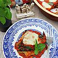 Parmigiana à la.napolitaine, recette très facile