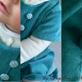 Les détails de la robe Oslo