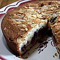 Gâteau aux blancs d'oeufs, poudre d'amandes et fruits rouges #que faire avec des blancs d'oeufs