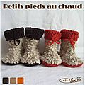 chaussons bebe bottes 01