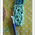 Upcycled carpet n°vi