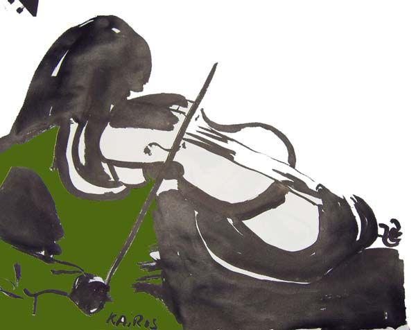 Alto violon
