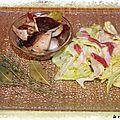 Salade de cepes a l'ail, au thym et au laurier
