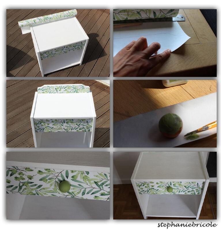 papier peint pour customiser meuble facile
