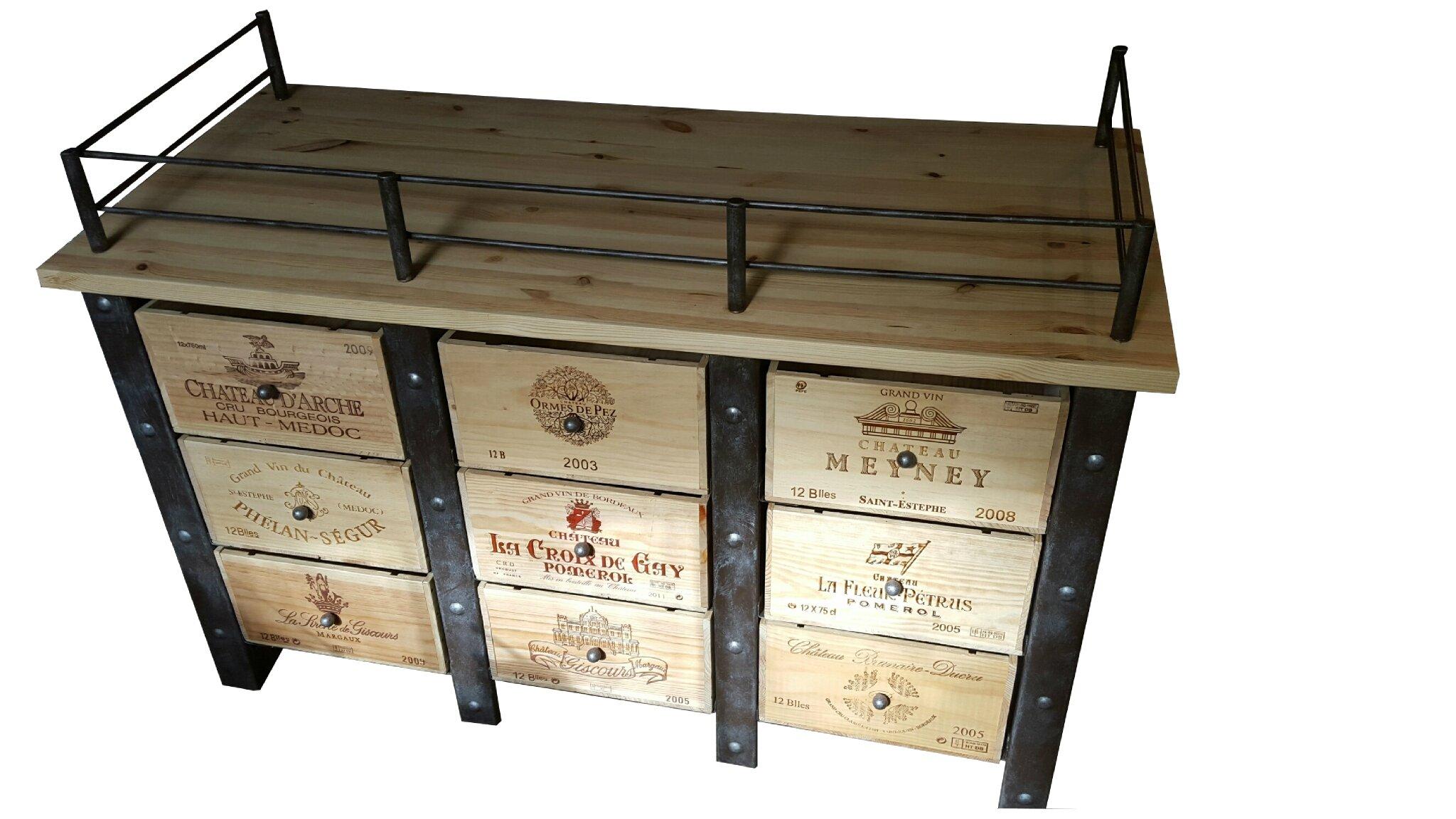 Caisse De Vin Déco meuble caisses de vins, stockages bouteilles de vins