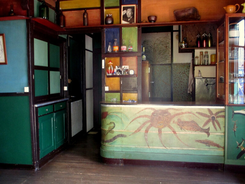 Roquebrune, Dans la villa du Corbusier