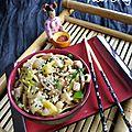 Bol de nouilles nippones au hareng