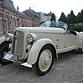 ADLER Trumpf Junior Sport roadster 1935 Schwetzingen (1)
