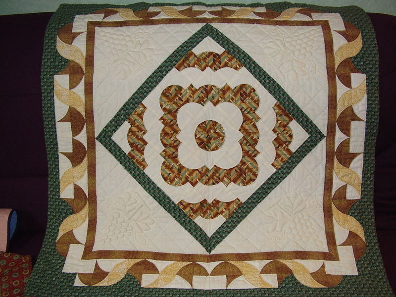 Medaillon quilt
