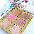 Palette visage natural face de too faced