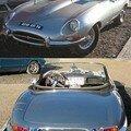JAGUAR - Type E 3.8L série 1 cabriolet - 1962
