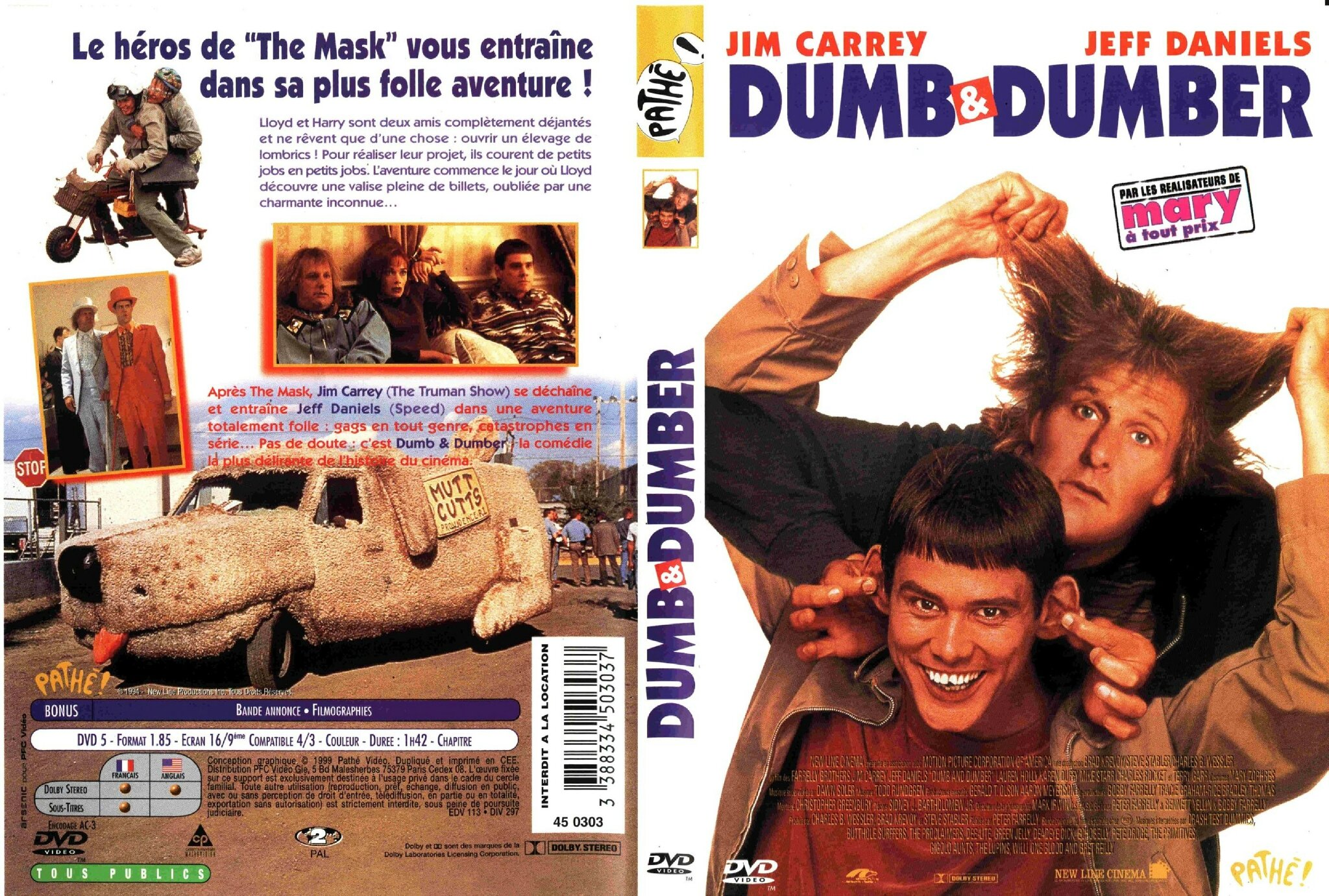 Jaquette Dumb and Dumber