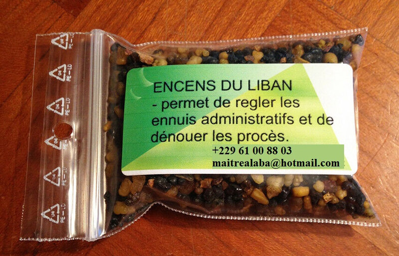 Encens du Liban en grains