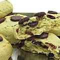 Cookies à l'avocat et au chocolat