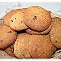 Cookies au chocolat et au pralin