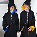 capes harry potter portées