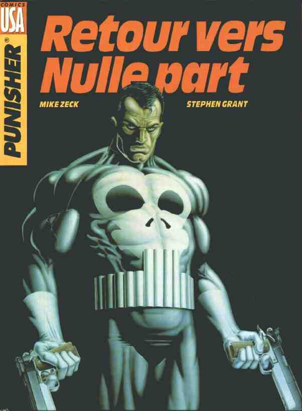 comics USA punisher retour vers nulle part