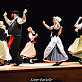 La troupe des danseurs de Castelnau