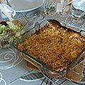 Cuisine maison: patates bolognaises