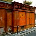 Devantures parisiennes.