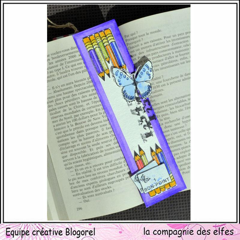 blogorel dt compagnie des elfes marque pages ecole loreeduscrap