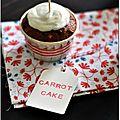 ♥ carrot cake aux zestes de citron ♥