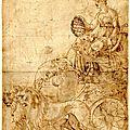 [char de triomphe] allégorie de rome