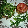 Croque au pain d'aubergine (6 pers.)